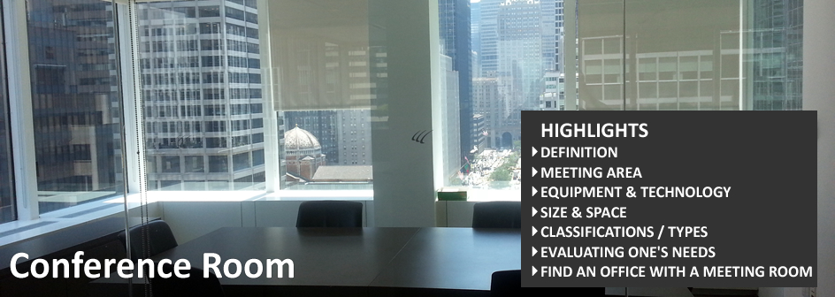 Conference Room Commercial Real Estate Definition Footer