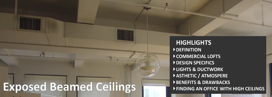 Exposed Beamed Ceilings Commercial Real Estate Definition Footer