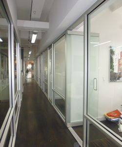 Hallways With Glass Walls