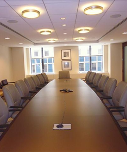 Renovated Conference Room