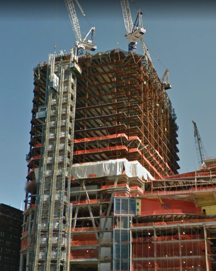 30 Hudson Yards Property Under Construction