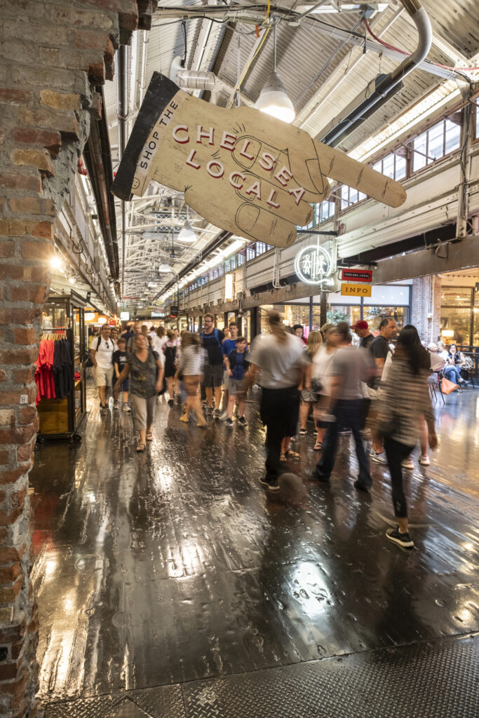 Chelsea Market in Manhattan New York City