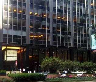 299 Park Avenue Ground Floor Exterior Entrance