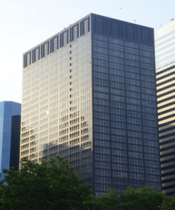 commercial building at battery park with onsite management