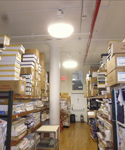 commercial loft storage room