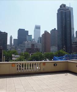 downtown manhattan roof deck space