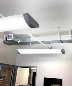 tenant controlled HVAC office duct work