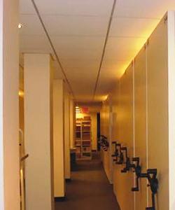 mail-room sliding storage system